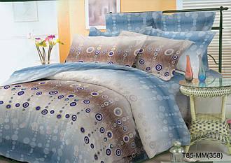 Полуторный комплект постельного белья «Яркие шарики» 145х215 см из полиэстера