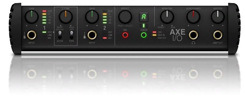 IK MULTIMEDIA AXE I/O аудио-интерфейс премиум-класса с продвинутыми настройками для гитары
