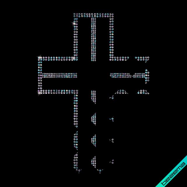 Малюнки на верхній одяг Хрест (Скло,3мм-бенз.,4мм-бенз.)