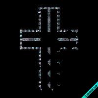 Рисунки на верхнюю одежду Крест (Стекло,2мм-бенз.,3мм-бенз.)