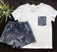 Піжама футболка і шорти L-XL ловець снів