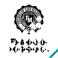 Аплпикации, латки на полусапожки franklin and Логотип [Свой размер и материалы в ассортименте]