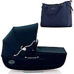 Коляска Inglesina Classica Jacquard Blue AB05K0JBL с сумкой, фото 3