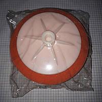 Круг полировочный под резьбу М14 оранжевый HRV