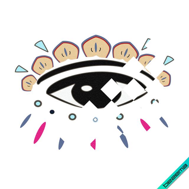 Аппликации на свитеры глаз логотип [Свой размер и материалы в ассортименте]