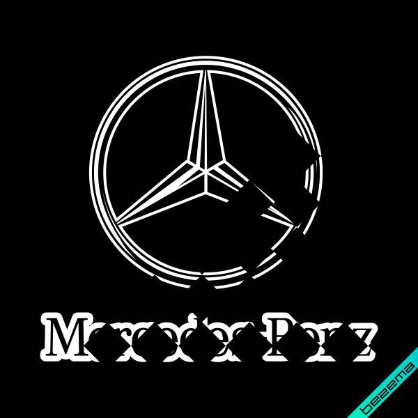 Термопереводки на легінси Mercedes-Benz [Свій розмір і матеріали в асортименті]