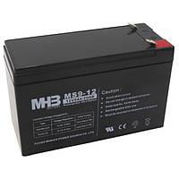 Aккумулятор AGM 9Ач 12В, необслуживаемый герметичный, модель MS9-12, MHB battery