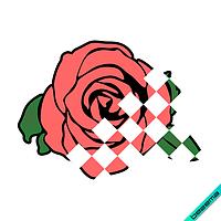 Рисунки на белье для беременных Цветок [Свой размер и материалы в ассортименте]