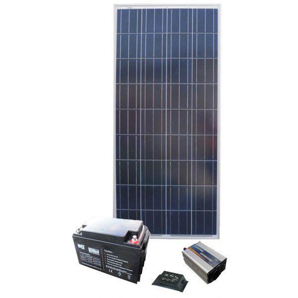 Автономна Сонячна електростанція - Дача 22/7кВт*год в міс., AXIOMA energy