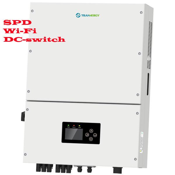 Сетевой солнечный инвертор 17 кВт  трехфазный (Модель TRN017KTL), Trannergy