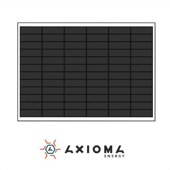 Сонячна батарея (панель) 100Вт, монокристаллическая AX-100M, AXIOMA energy