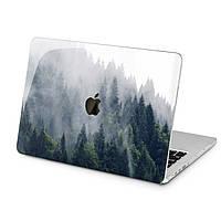 Чехол пластиковый для Apple MacBook (Зеленый лес) модели Air Pro Retina 11 12 13 15 2015 2016 2017 2018 эпл макбук эйр про ретина case hard cover