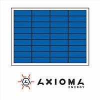 Солнечная батарея (панель) 10Вт, поликристаллическая AX-10P, AXIOMA energy