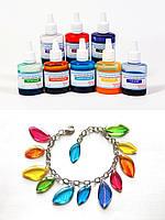 Светопрозрачные красители эпоксидной смолы, набор из 8 цветов, по 20 г