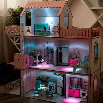Освещение кукольных домиков
