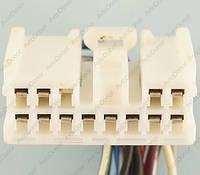 Разъем электрический 13-и контактный (35-15) б/у 11714