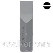 Насадка 5/16'' 30мм шлиц  10*1.6мм  для ударной отвертки  TOPTUL FSAA1010