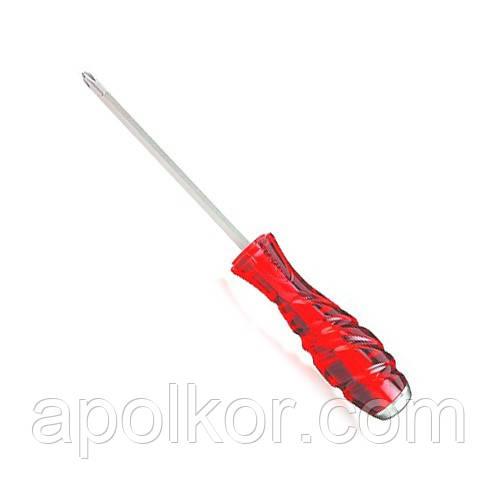 Отвертка крестовая  PH1 x 100mm ударная SUPER GRIP  TOPTUL FBGE0110