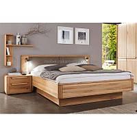 Кровать деревянная Л-16