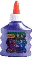 Клей ZiBi МЕТАЛІК, на PVA-основі, 88 мл, фіолетовийна (ZB.6117-07)