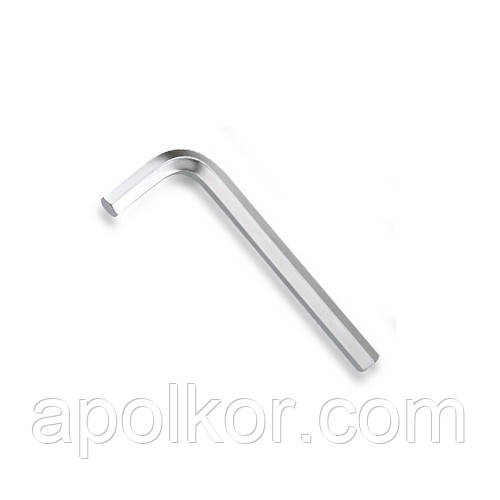 Ключ шестигранный Г-обр. 5мм   (сталь SNCM+V)  TOPTUL AGAS0509