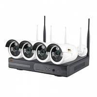 Комплект видеонаблюдения Partizan Outdoor Wireless Kit 4MP 4xIP v1.0, фото 1