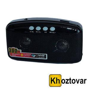 Портативний радіоприймач NNS FM-Radio NS-002BT   Bluetooth колонка