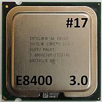 Процессор ЛОТ#17 Intel® Core™2 Duo E8400 SLB9J 3.00GHz 6M Cache 1333 MHz FSB Socket 775 Б/У, фото 1