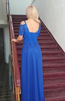 Недорогое вечернее платье. Универсальный размер подойдет на любую фигуру. Онлайн ателье., фото 2
