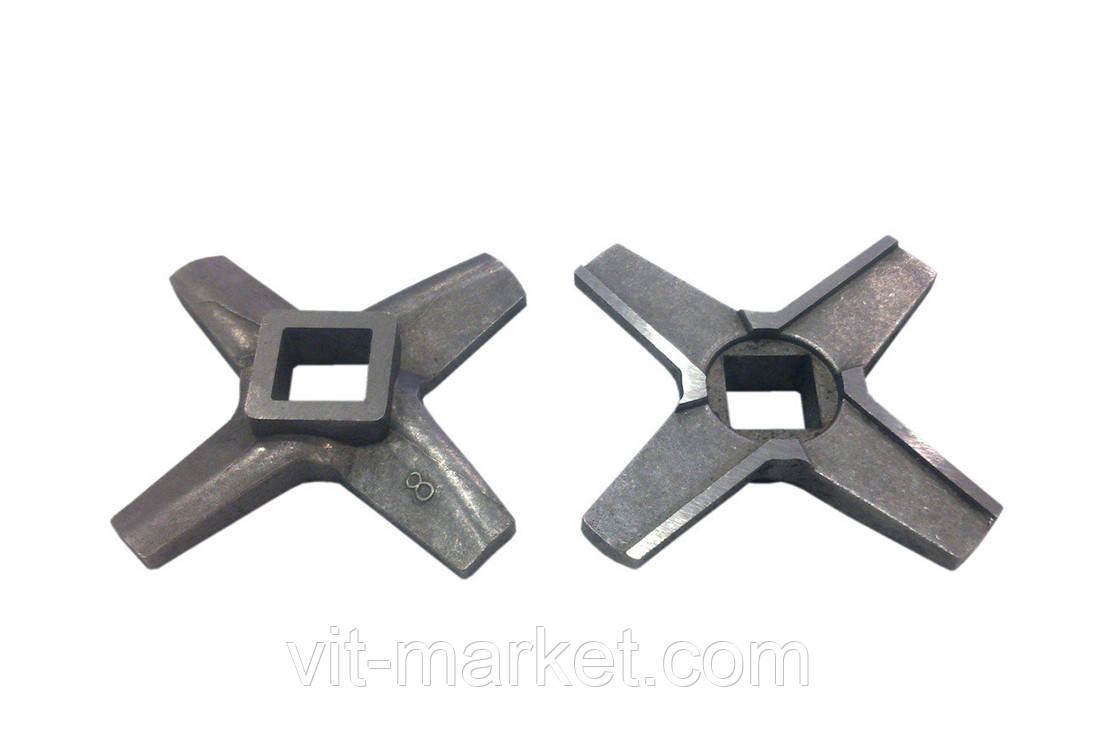 Нож односторонний для мясорубки Zelmer NR8 код 86.3107, 755469
