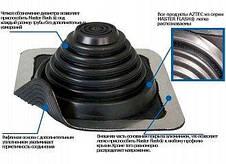 Майстер флеш прямий чорний 175-325 мм (прохід покрівлі для димоходу), фото 3