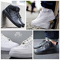 Скидка 35% Кроссовки черные Nike Air Force High Black
