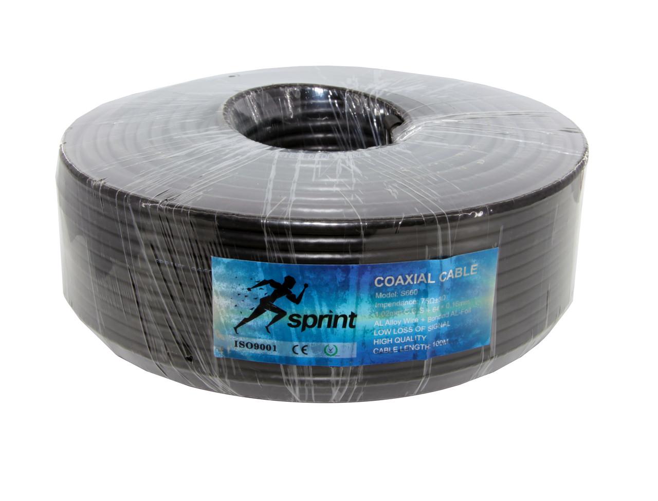 Sprint S660 (64x0,16мм) черный 100м