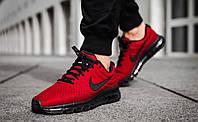 Кроссовки красные Nike Air Max 2017 Red Найк Аир Макс 2017