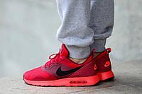 Кроссовки черно красные Nike Air Max Tavas Black Red, фото 1