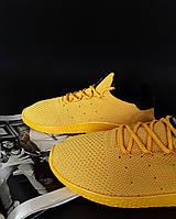 Кроссовки желтые Адидас Фаррелл Уильямс, фото 1
