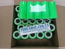 Етикет-стрічка 21х12 мм Aurika 1000шт.\рулон 180рул.\ящик Стрічка для етикет пістолети Зелений