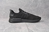 Кроссовки чисто черные Adidas NMD Runner All black, фото 1