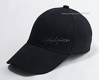 Черная бейсболка из коттона Автограф