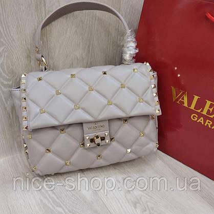Сумка Valentino светло-серая, фото 3