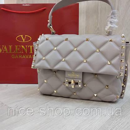 Сумка Valentino светло-серая, фото 2