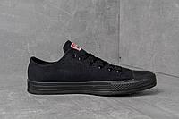 Кеды Converse All-Stars Чисто Черные Последние 36, 37, 38 размеры!, фото 1