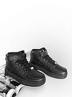 Кроссовки Nike Air Force High Black! Топ 2019! Найк Аир Форс! Мода и стиль!, фото 1