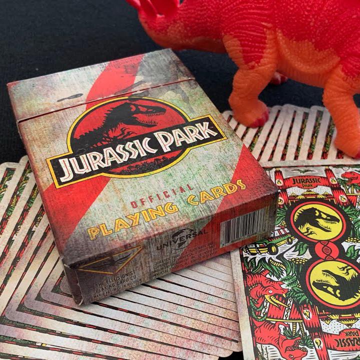 Карты игральные   Jurassic Park by Ellusionist