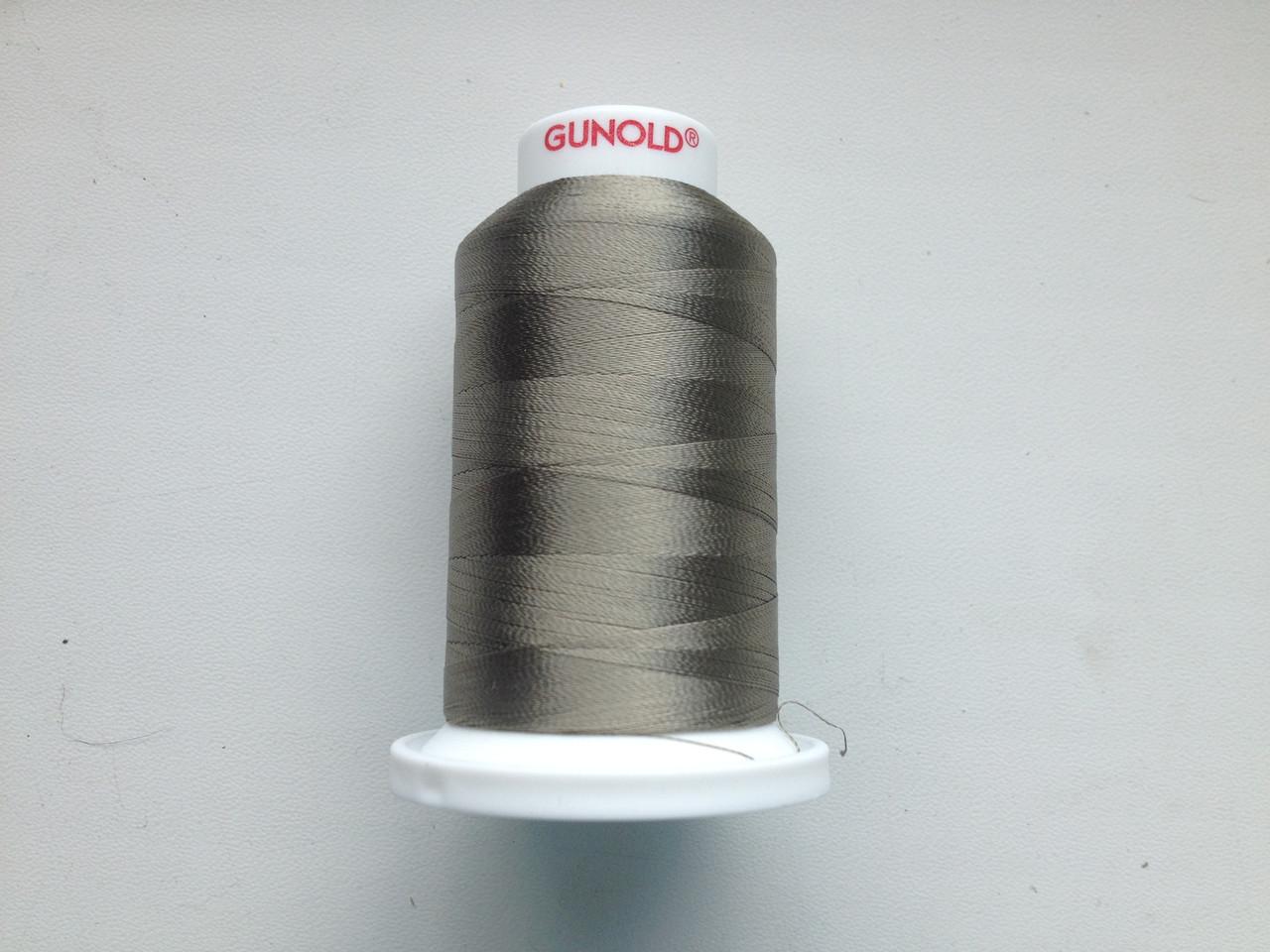 Нитки для машинной вышивки   GUNOLD  №40.  цвет 610 ( ХАКИ СВЕТЛЫЙ ).  1000 м