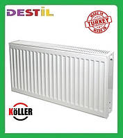 Стальной Панельный Радиатор Köller 500x1600 Боковое Подключение
