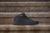 Скидка 35% Кроссовки черные Nike Air Force Black