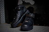 Кроссовки Nike Air Force High Black, фото 1