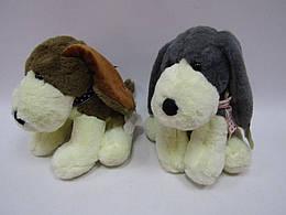 """Мягкая игрушка """"Собачка"""" 2 вида, высота 25см  20*21**25 см. /300/"""