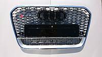 Решетка радиатора Audi A6 12+ стиль RS6